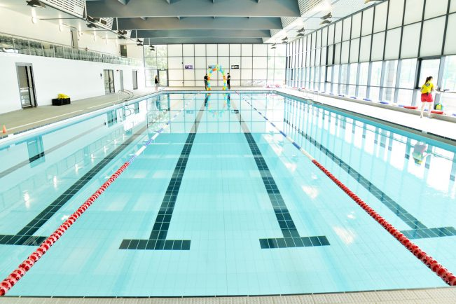 new swimming pools opened as part of 5million stratford leisure centre refurbishment the