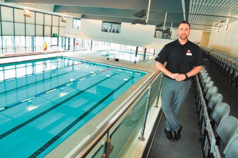 Kids encouraged to swim as part of initiative to support - Stratford swimming pool opening times ...