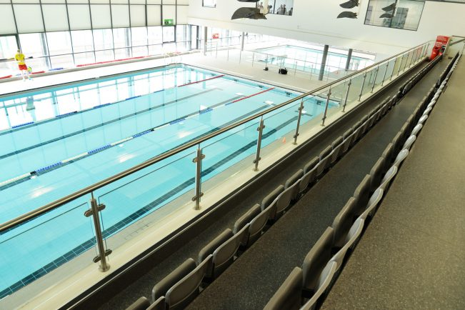 New swimming pools opened as part of 5million stratford leisure centre refurbishment the for Stratford swimming pool timetable