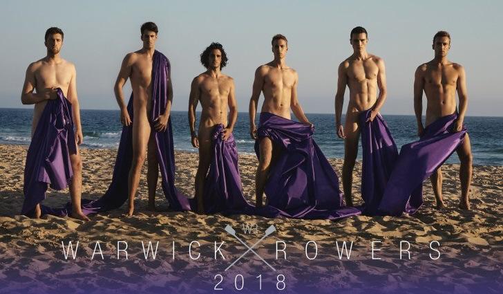 Warwick rowers prepare to bare